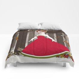 Flora im Walde Comforters