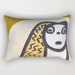 Tribal Idol #1 Rectangular Pillow