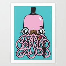Oh Crab! Art Print