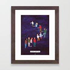 Imaginary Stairway to Heaven Framed Art Print