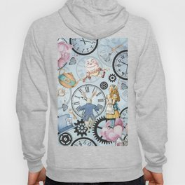 Wonderland Time Hoody