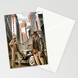 Detectives from other worlds Stationery Cards