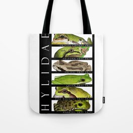Tree frogs of North America - Hylidae Tote Bag