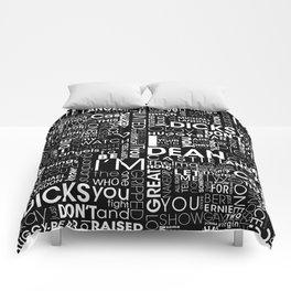 Put wings to your words (Destiel) B Comforters