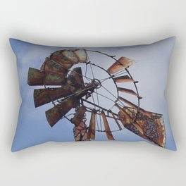 Rusty Windmill Rectangular Pillow