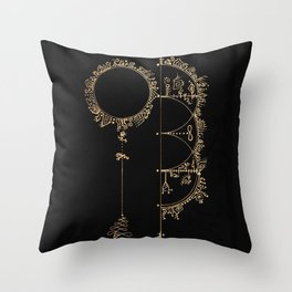 Spirit Portals Throw Pillow