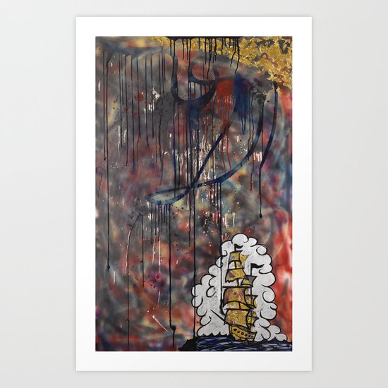 To The End Of The World Art Print
