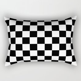 CHECKER PRINT Rectangular Pillow