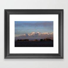 Sunrise & Garfunkel Framed Art Print