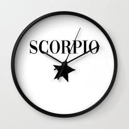 scorpio Wall Clock