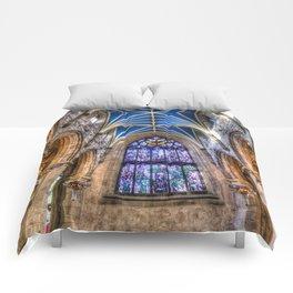 St Giles Cathedral Edinburgh Scotland Comforters