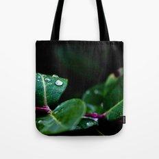 Dropletsleaf Tote Bag