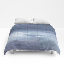 Number 80 Abstract Sky Comforters