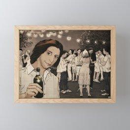 bye summer! Framed Mini Art Print