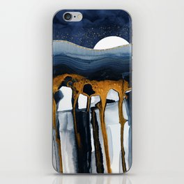 Liquid Hills iPhone Skin