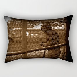 Batter on Deck Rectangular Pillow