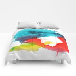 Palindrome One enO Comforters