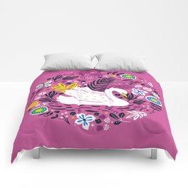 Delightful Swan Comforters