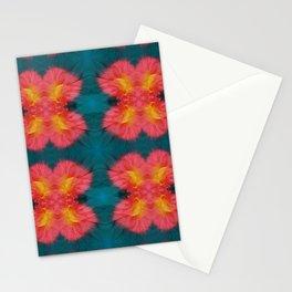 Tie Dye Silk Photogaph Repeat Pattern Stationery Cards