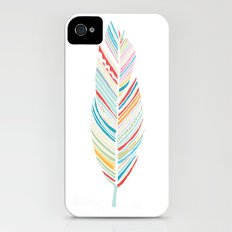 Lone Feather iPhone (4, 4s) Slim Case