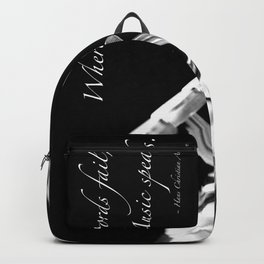 Music Speaks Backpack
