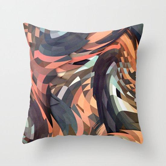 Menomena Throw Pillow