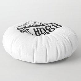 Oregon Mt Hood My Hood Mountain Adventure Novelty Floor Pillow