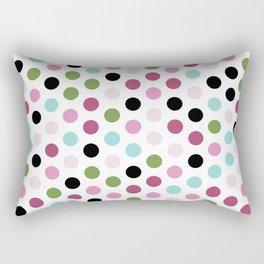 Modern Chic Large Polka Dots Rectangular Pillow