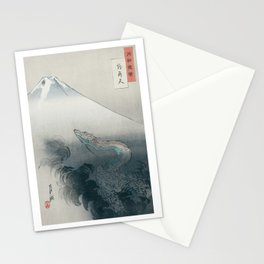 Dragon rising to the heavens by Ogata Gekkō,1897 Stationery Cards