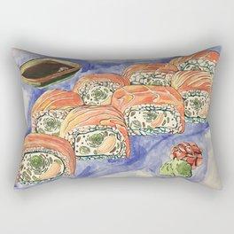 Eukaryotic Sushi Roll Rectangular Pillow