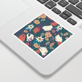 Botanical pattern 008 Sticker