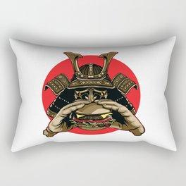 Samurai Burger Rectangular Pillow