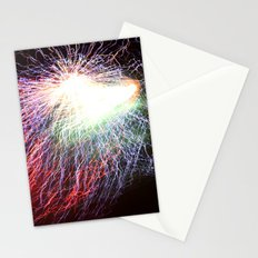 Electric night Stationery Cards