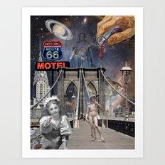 Imagine Brooklyn Art Print