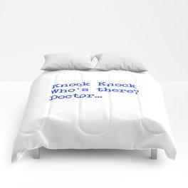 Knock-Knock 4 Comforters