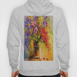 A bouquet of wild flowers Hoody