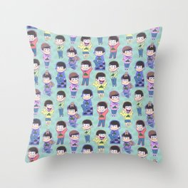 The Sextuplets Throw Pillow
