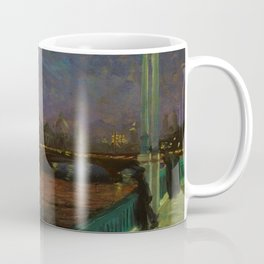 Nocturne, Paris Landscape Painting by Alfred Henry Maurer Coffee Mug