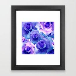 Bouquet de fleur Framed Art Print