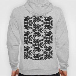 primrose bw pattern Hoody