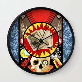 Fate or Fortune Wall Clock