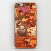 grantaire iPhone & iPod Skins featuring Les Misérables: A Group Which Almost Became Historic by batcii
