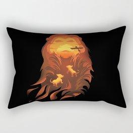 The Lion King - Into The Wild Rectangular Pillow