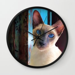 my best shot Wall Clock