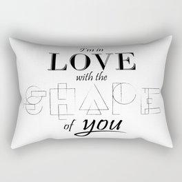 Shape of you Rectangular Pillow