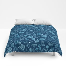 Cephalopods - Bioluminescence Comforters