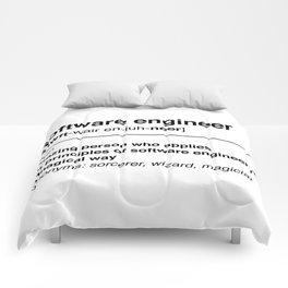 Software Engineer definition Comforters