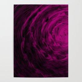 Organic Spiral - Purple Poster