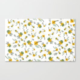 Wall Garden Canvas Print