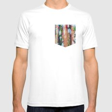 Ride Ride Ride White Mens Fitted Tee MEDIUM